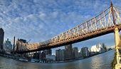 Queensboro Bridge And Manhattan, Roosevelt Island, New York