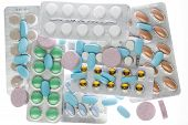 pic of blisters  - Several different types of pharmaceutical pills in blister package - JPG