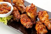 pic of chicken wings  - Hot Meat Dishes  - JPG