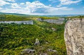 foto of eminent  - The mountain system is the mesa of the Crimea - JPG