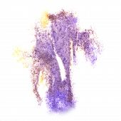 picture of insults  - Abstract watercolor lilac - JPG