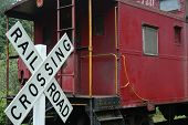foto of caboose  - This train has made it - JPG