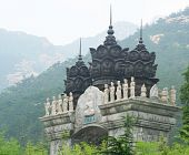 An Archway in the Lao Shan Mountains