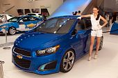 Chevrolet Aveo RS concept car