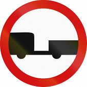 picture of motor vehicles  - Polish regulatory signv  - JPG