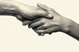 picture of  friends forever  - Two hands  - JPG