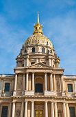 Les Invalides is a complex of buildings in the 7th arrondissement of Paris, containing museums and monuments, all relating to the military history of France.