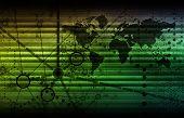Tecnología de seguridad de vigilancia como un arte Global