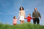 Family Child Grass