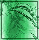 Garden Grunge Green Tile