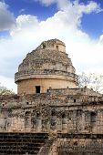 Observatório de caracol maias Chichen Itza México Yucatan