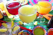 stock photo of poblano  - margarita sex on the beach cocktail beer tequila Mexico drinks beverages - JPG