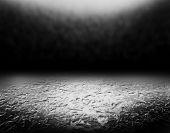 icy grunge black background