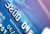 Close-Up A Credit Card
