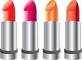 multiple colored lipstick