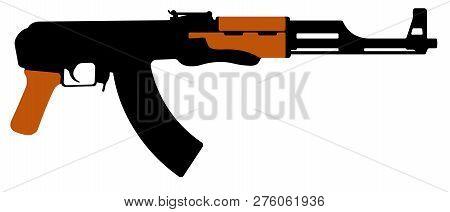 Assault Rifle Kalashnikov Ak47 Machine