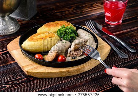 Cepelinai A Traditional Lithuanian Dish