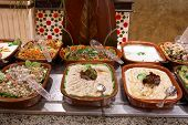 Prepared Food In Hotel Restaurant