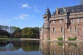 Castle 'De Haar' near Utrecht  in the Netherlands