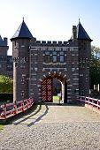 Part of castle 'De Haar' in the Netherlands