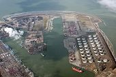 Industrial area in South of the Netherlands