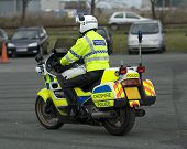 Uk Motorcycle Cop
