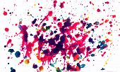 Multicolor Splatter