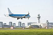 Schiphol airport in the Netherlands