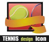 Tennis Design Icon