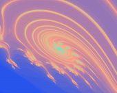 Pink Galaxy Style Swirl Design