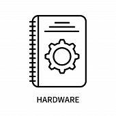 Hardware Icon Isolated On White Background. Hardware Icon Simple Sign. Hardware Icon Trendy And Mode poster