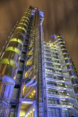 Lloyds Building At Night