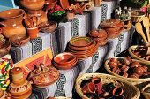 Mexican Pottery Stall