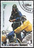 Mont Everest Stamp