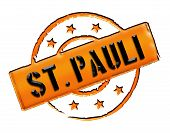 foto of brothel  - Sign and stamp for your presentation for websites and many more named St - JPG