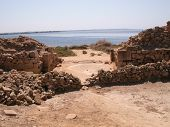 The south gate of the Phoenician colony of Motya