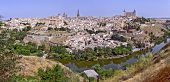 Toledo con el río Tajo