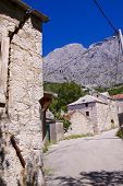 Old Village In Croatia
