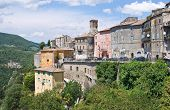 Panoramic view of Narni. Umbria. Italy.