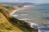 Dorset coastline view