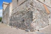 The Albornoz fortress of Narni. Umbria. Italy.