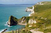 Dorset coastline at Durdle Door