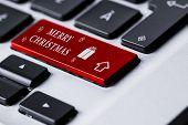 Keyboard MERRY CHRISTMAS