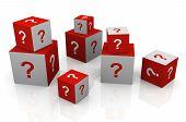 Question Mark Cubes