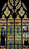 Fougeres - Church, Stained Glass