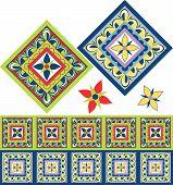 Azulejos de Fiesta Mexicana