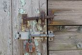 Old Latch And Lock