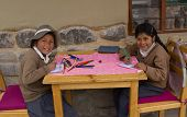 School Children,Peru