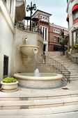 Via Rodeo Steps In Beverly Hills