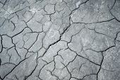 Cracked Ground Background. cracked soil in river , texture
